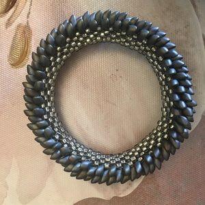 Dragon scale beaded bracelet ( handmade)